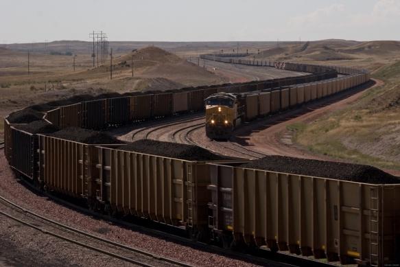 Trains-carrying-loads-of-coal